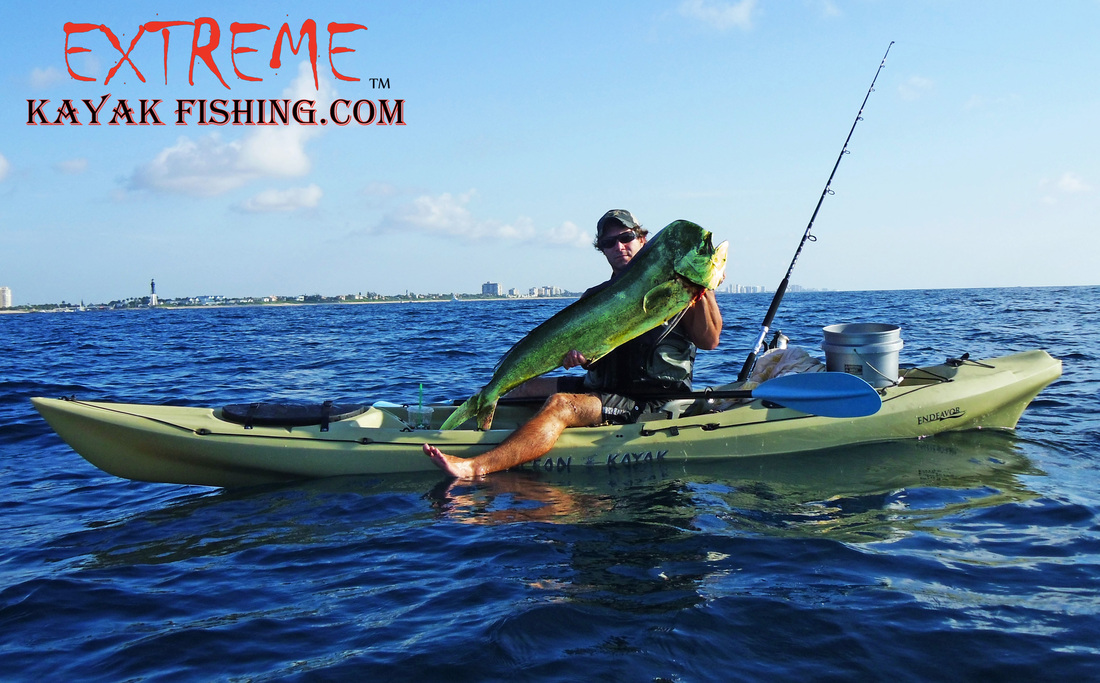 extreme kayak fishing